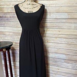 Lauren Ralph Lauren Spaghetti Strap MIDI Dress
